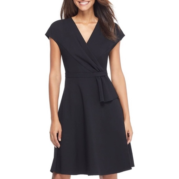 Gal Meets Glam Dresses & Skirts - Gal meets glam Lydia double face twist dress 00
